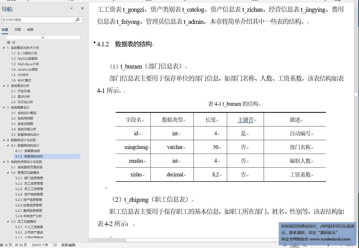 源码码头-JSP企业财务管理系统-设计论文-数据库设计